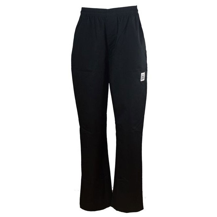 Chef Revival LP002BK-3X Ladies Poly Cotton Cargo Chef Pants, 3X, Black
