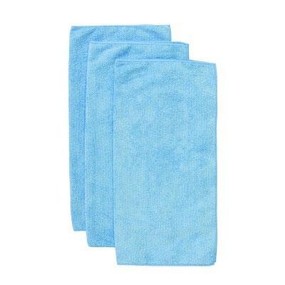 """Chef Revival MF100BL 16"""" Square Multi-Purpose Towel - Microfiber, Blue"""