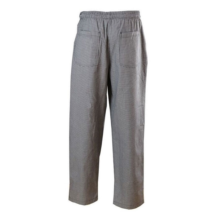 Chef Revival P004HT-M Poly Cotton Chef Pants, Medium, Hounds Tooth