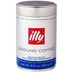 Illy 00494 8.8-oz Medium Grind Medium Roast Drip Coffee