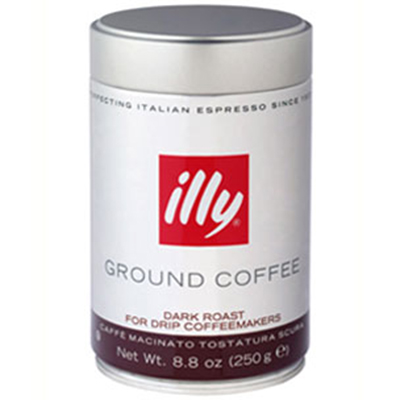 Illy 00769 8.8-oz Medium Grind Dark Roast Drip Coffee