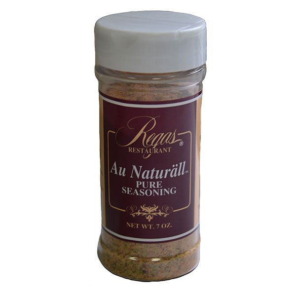 Regas Seasonings RS Regas Restaurant Au Naturall Seasoning