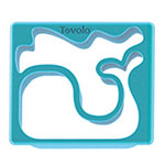 Tovolo 80-7785 Sandwich Shaper - Whale & Octopus