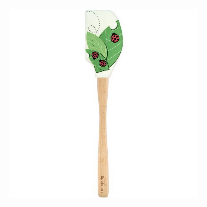 Tovolo 80-9550 Lady Bug & Leaves Spatula - BPA Free