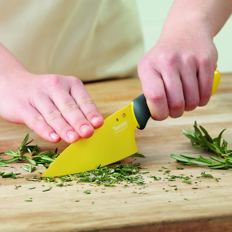 "Tovolo 81-10918 5"" Prep Knife - Ergonomic Handle, Blade Cover, BPA Free"