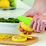 "Tovolo 81-10956 3.5"" Citrus Knife - Ergonomic Handle, Blade Cover, BPA Free"