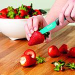 "Tovolo 81-10994 3.5"" Paring Knife - Ergonomic Handle, Blade Cover, BPA Free"