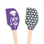 Tovolo 81-11533 Set of 2 Mini Skeletons Spatula - BPA Free