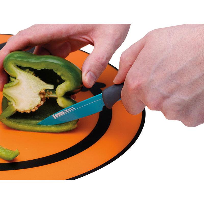 "Tovolo 81-11939 3.5"" Paring Knife - Ergonomic Handle, Blade Cover, BPA Free"