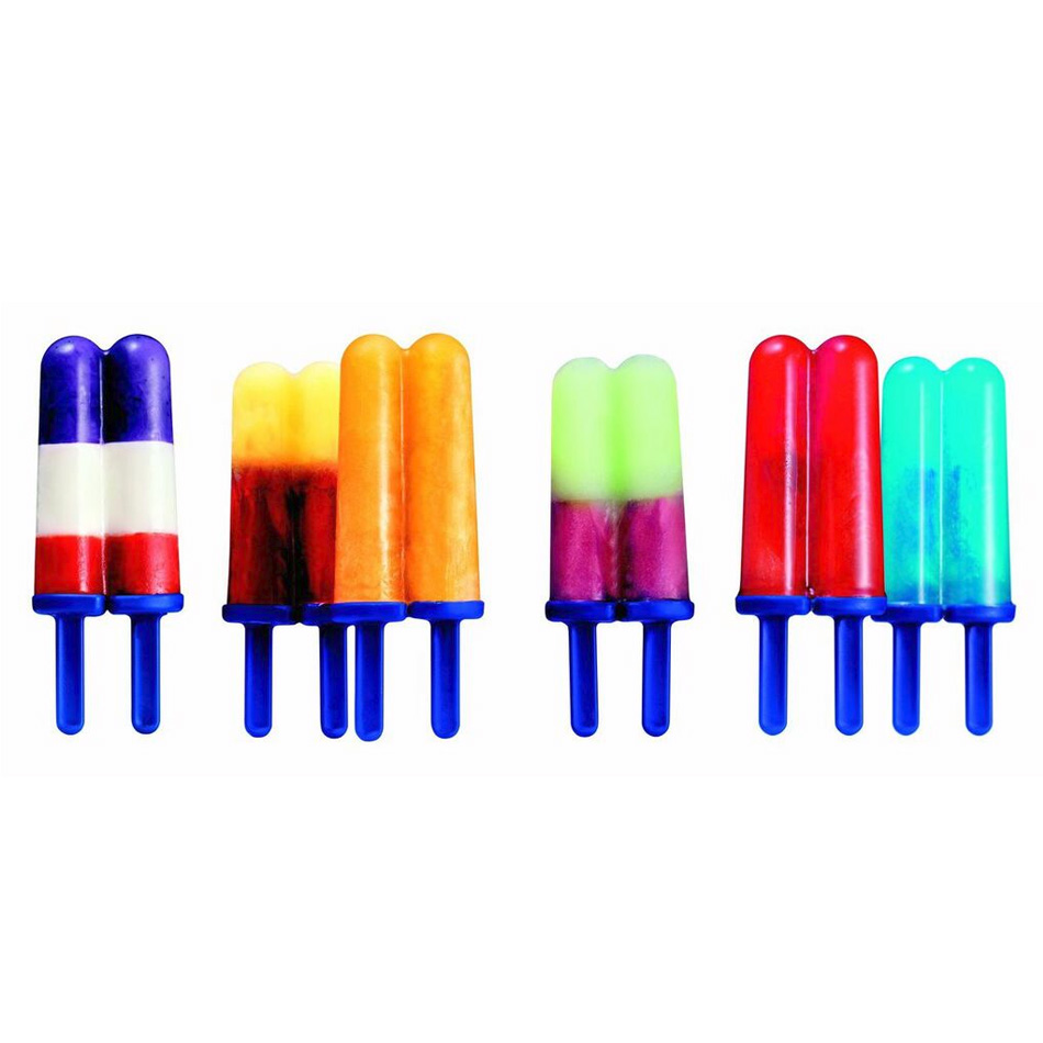 Tovolo 81-3002 Twin Pop Molds - Set of 4