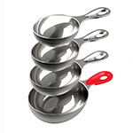 Tovolo 81-4399 4-Piece Measuring Cup Set, Stainless
