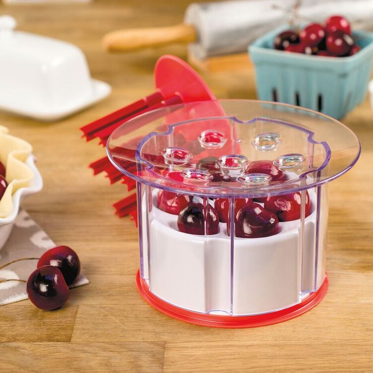 Tovolo 81-4474 Easy Press Cherry Pitter