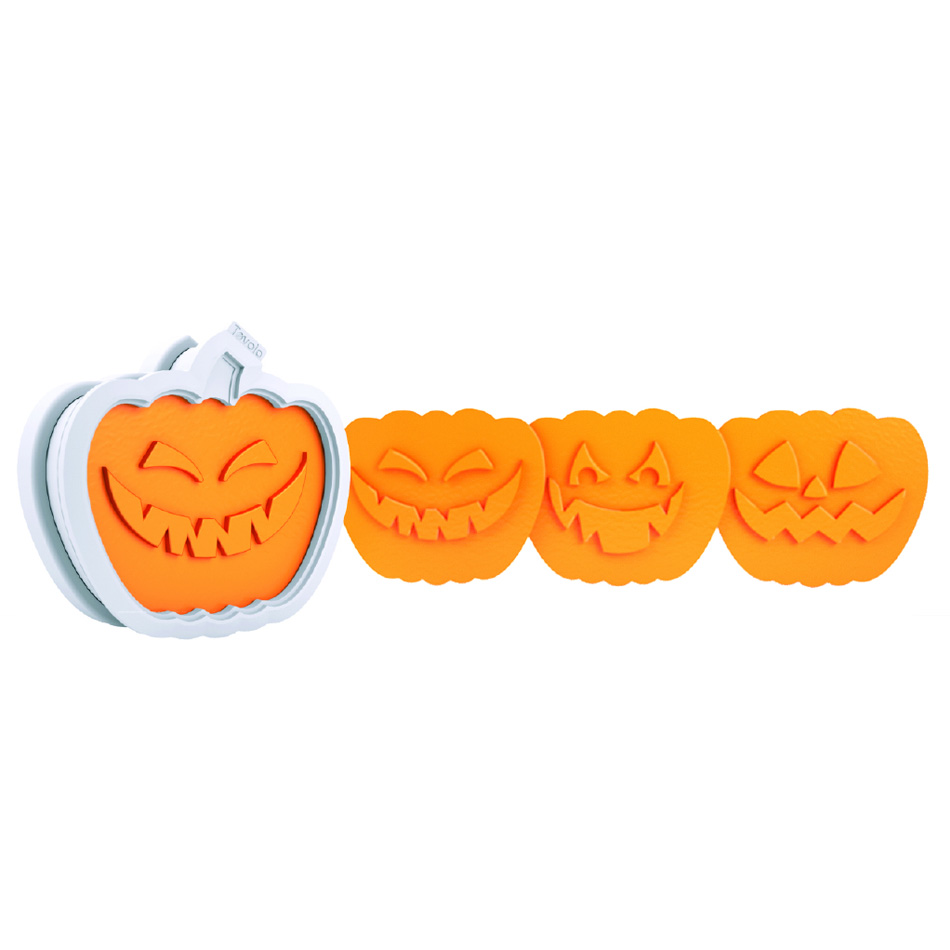Tovolo 81-4535 Halloween Cookie Cutter - Jack-O-Lantern