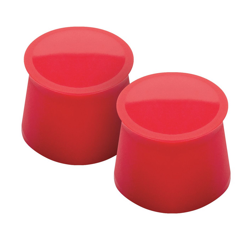 Tovolo 81-7888 Silicone Wine Cap - Candy Apple