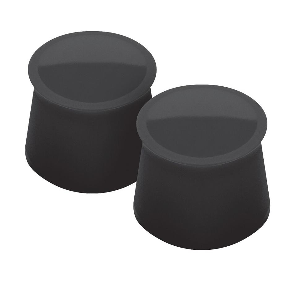 Tovolo 81-7918 Silicone Wine Cap - Charcoal