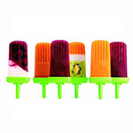 Tovolo 81-9172 Groovy Pop Molds - Green