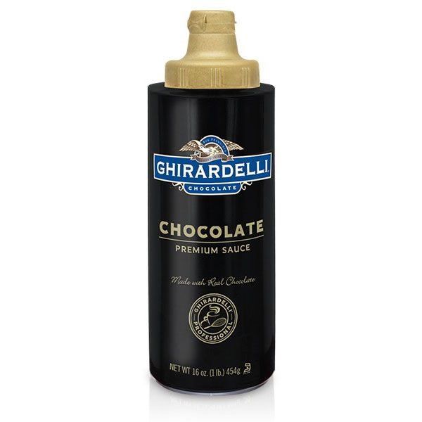 Ghirardelli 61282 16-oz Chocolate Flavored Sauce, Squeeze Bottle