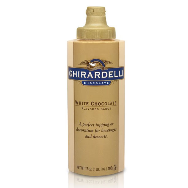 Ghirardelli 61284 17-oz White Chocolate Flavored Sauce, S...