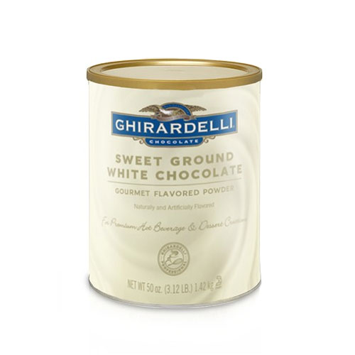 Ghirardelli 62038 3.12-lb Sweet Ground White Chocolate