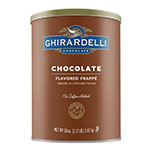 Ghirardelli 66200 3.12-lb Double Chocolate Frappe Mix