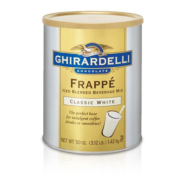 Ghirardelli 66201 3.12-lb Classic White Frappe Mix