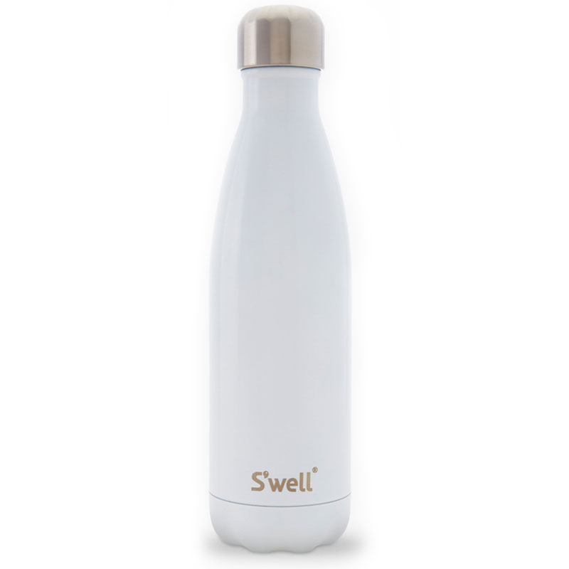 S'well SWB-ANGL 17-oz Insulated Water Bottle - BPA Free, 18/8 Stainless, Angel Food