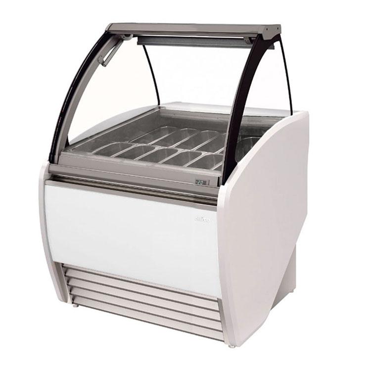 "Infrico IDC-VAR12H 52.38"" Stand Alone Ice Cream Freezer w/ 14-Pan Capacity, 230v/1ph"