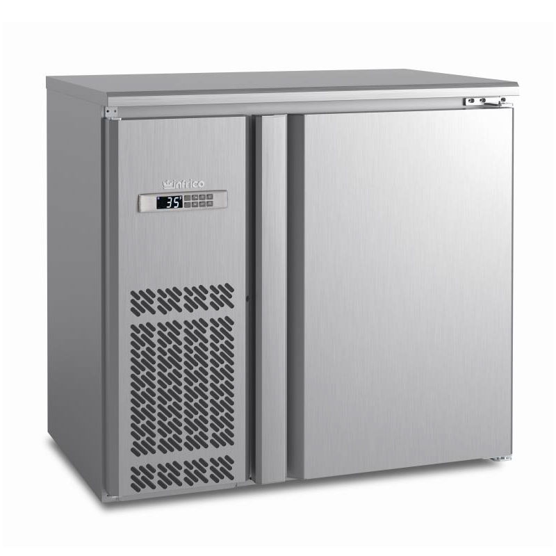 "Infrico IMD-ERV36IISD 36.38"" (1) Section Bar Refrigerator - Swinging Solid Door, 115v"