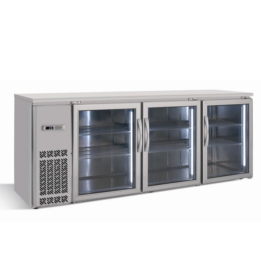 Infrico Imd Erv84iigd 85 25 Quot 3 Section Bar Refrigerator