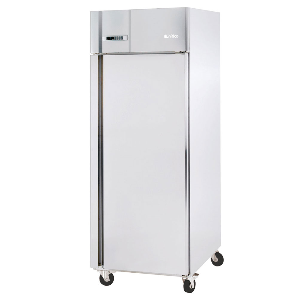 "Infrico IRR-AGB23BT 27"" Single Section Reach-In Freezer, (1) Solid Door, 115v"