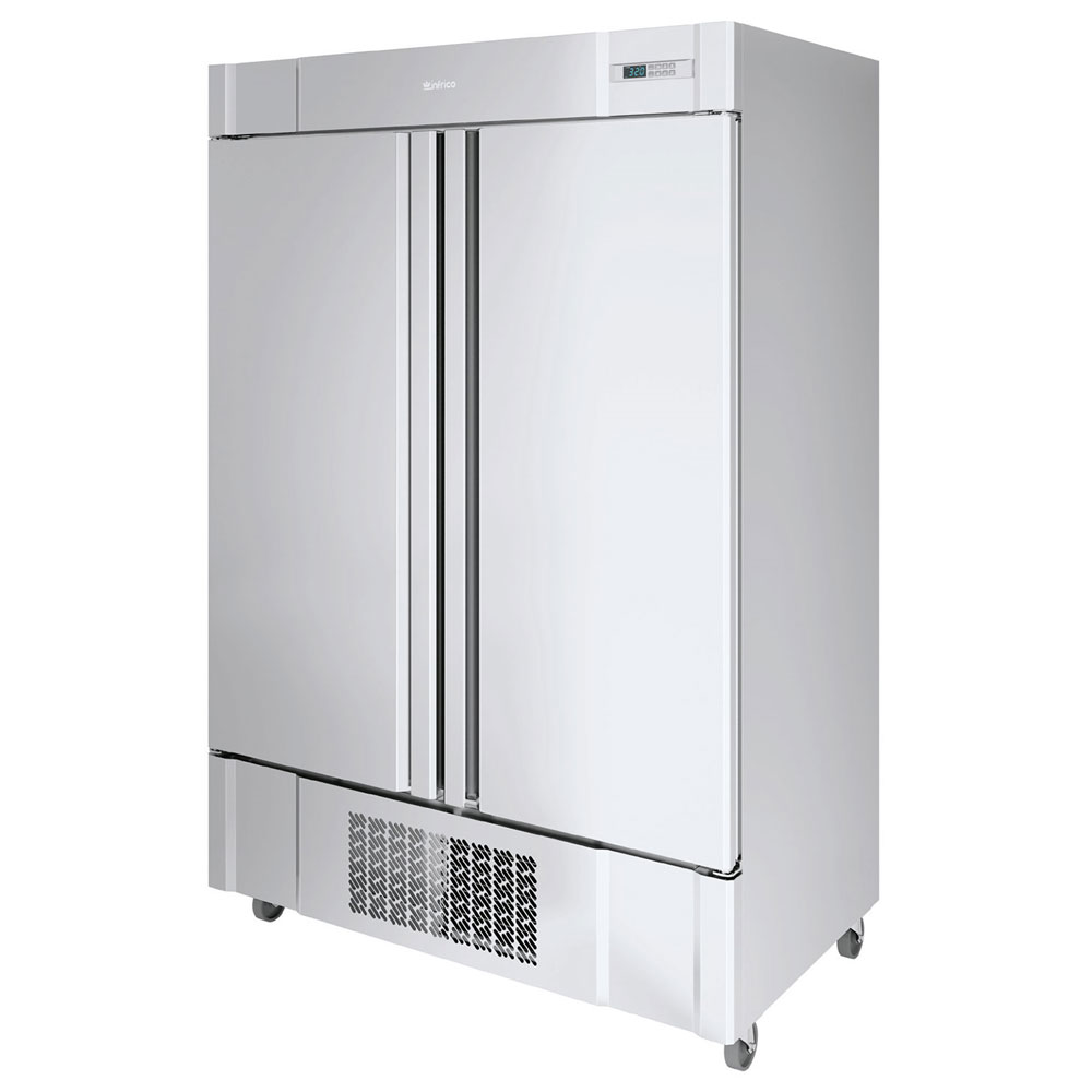 "Infrico IRR-AN49 54.5"" Two-Section Reach-In Refrigerator, (2) Solid Doors, 115v"