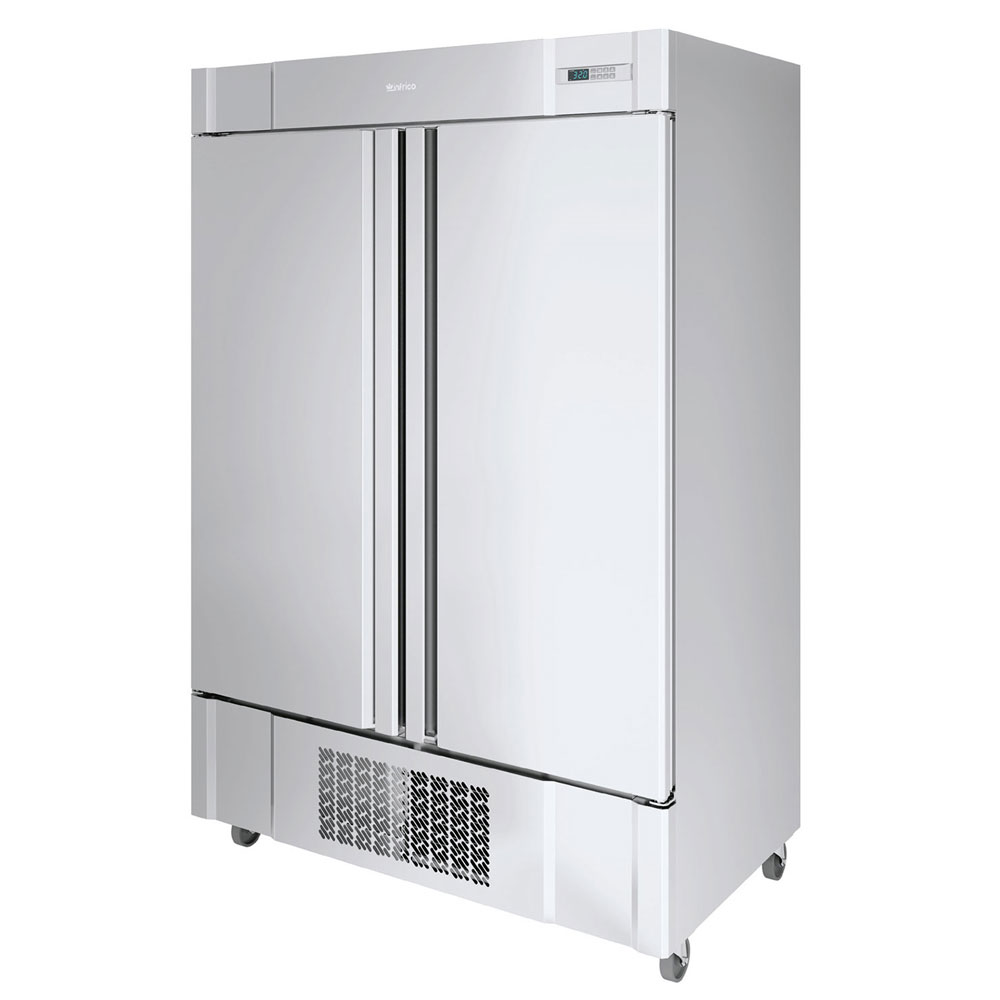 """Infrico IRR-AN49BT 54.5"""" Two-Section Reach-In Freezer, (2) Solid Doors, 115v"""
