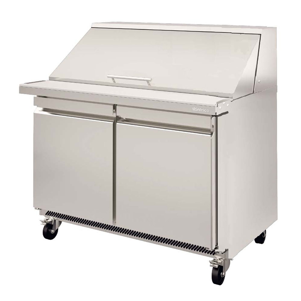 "Infrico IRT-UC48PMT 48.13"" Mega Top Sandwich/Salad Prep Table w/ Refrigerated Base, 115v"