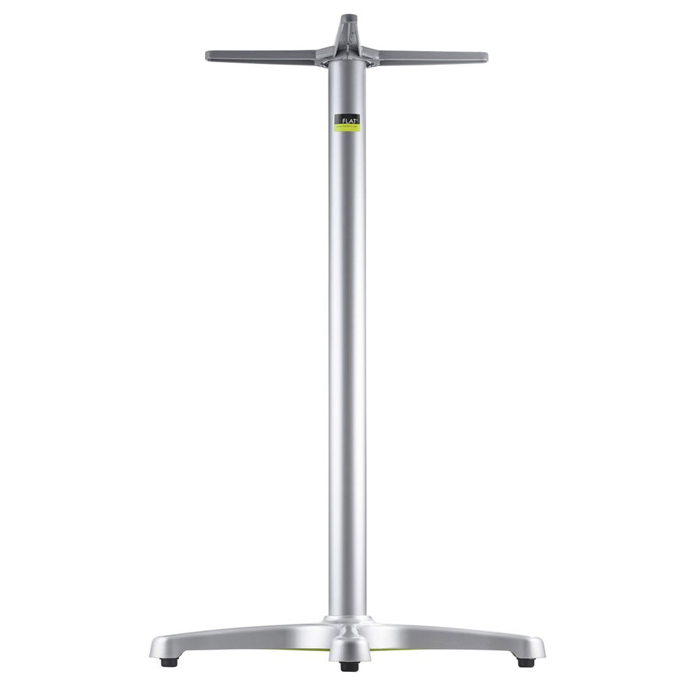 """Flat Tech CT1026 40.75"""" Bar Height Table Base for 26"""" Square & 30"""" Round Table Tops, Aluminum"""