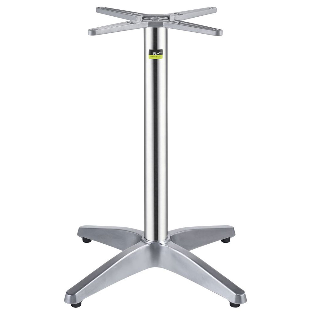 """Flat Tech CT1104 28.35"""" Dining Height Table Base for 28"""" Table Tops, Aluminum"""