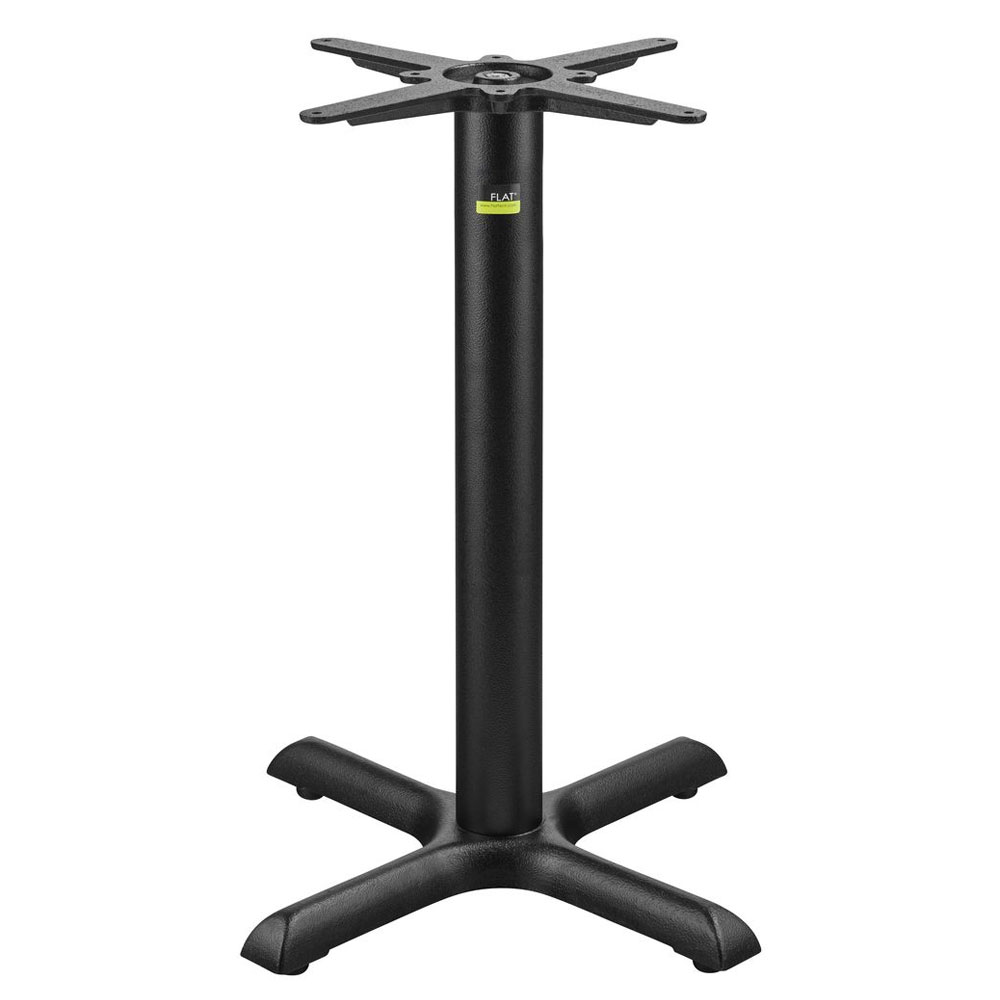"""Flat Tech CT2007 28.35"""" Dining Height Table Base for 30"""" Table Tops, Cast Iron"""