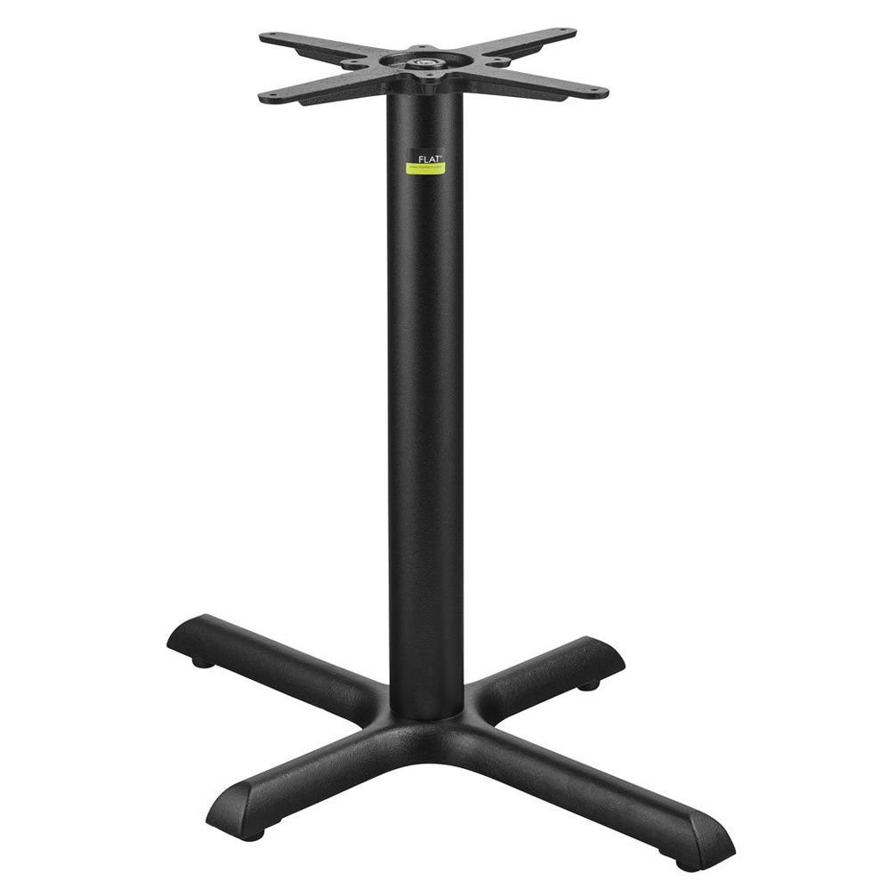 """Flat Tech CT2020 28.35"""" Dining Height Table Base for 30"""" x 36"""" Table Tops, Cast Iron"""