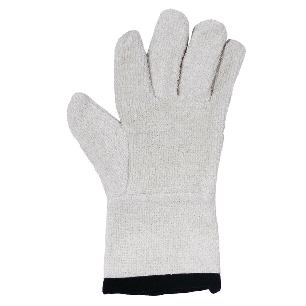 """Ritz CLGLT23BE-1 13"""" Oven Glove - Cotton Terry, Beige"""