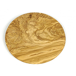 "Berard BER54177 9"" Round Olive Wood Cutting Board"