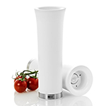 "Adhoc 78EP45 8"" Electric Pepper or Salt Mill, Milano, White"