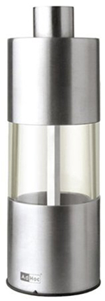 "Adhoc 78MP01 5.25"" Classic Salt or Pepper Grinder - Stainless"