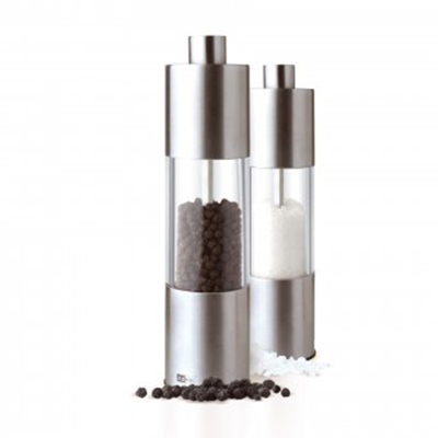 "Adhoc 78MP10 7"" Classic Salt or Pepper Grinder - Stainless"
