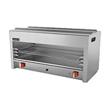 "Sierra Range SRCM-24 24"" Gas Cheese Melter w/ Infrared Burner, Stainless, NG"