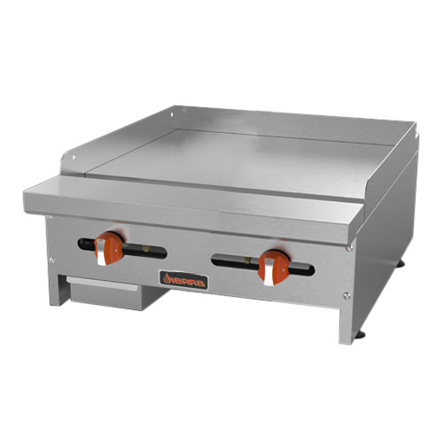"Sierra Range SRMG-24 24"" Gas Griddle - Manual, 3/4"" Steel Plate, LP"