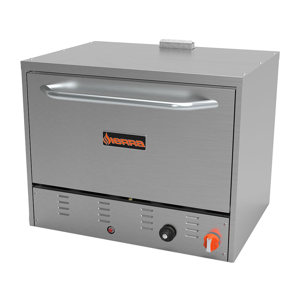 Sierra Range SRPO-24G Countertop Pizza Oven - Single Deck, NG