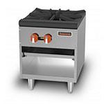 Sierra Range SRSP-18 1-Burner Gas Stock Pot Range, NG