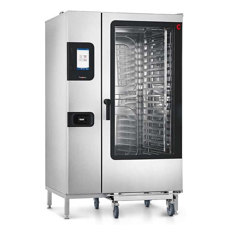 Convotherm C4ET20.20EB_STK440 Full-Size Roll-In Combi Oven, Boiler Based, 440-480v/3ph