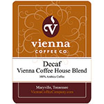 Vienna Coffee WVCHDG-12 12-oz Ground Decaf Coffee, Vienna Coffee House Blend