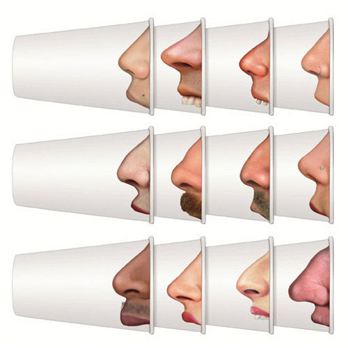True Brands 1108 12-oz Pick Your Nose Paper Cups