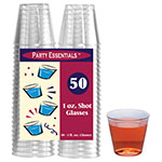 True Brands 1475 1-oz Shot Glasses, Plastic